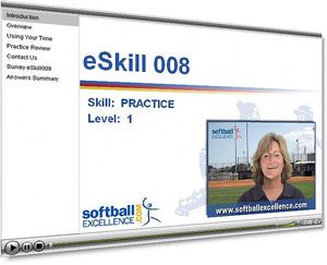 Softball Excellence eSkills from the VAULT PLUS